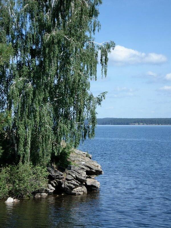 Обрыв на озере (16.09.2013)