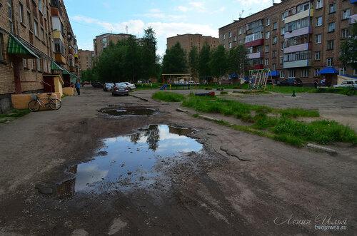 Фото города Инта №7851  Сегодня был произведён запланированный снос обветшавшего