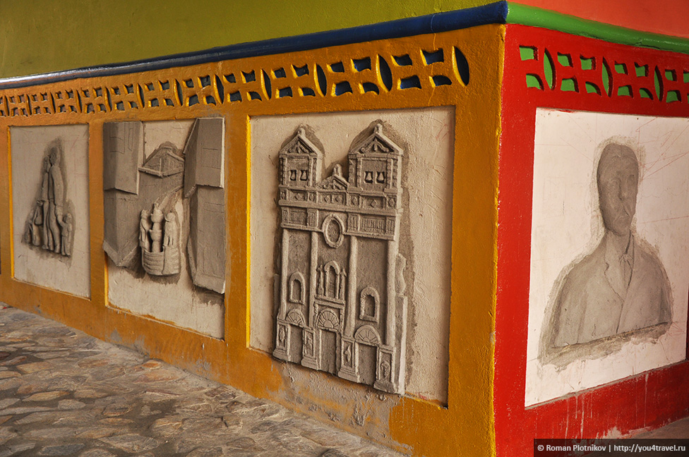 0 151ece a88ce0e7 orig День 178 180. Окрестности Медельина: город Гуатапе и достопримечательность Пеньон де Гуатапе