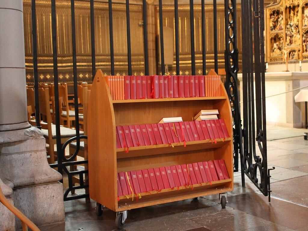 Уппсала, Кафедральный Собор. Интерьеры. Uppsala Cathedral interior