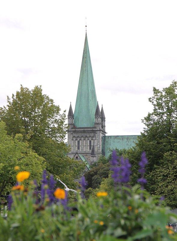 Trondheim, market square (Torvet)