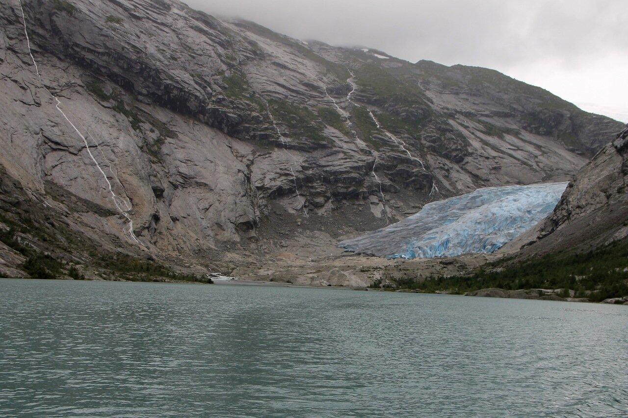 Восхождение на ледник Нигардсбреен. Ascent on the Nigardsbreen Glacier