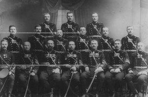 Группа подпрапорщиков, фельдфебелей и старших фейерверкеров бригады.