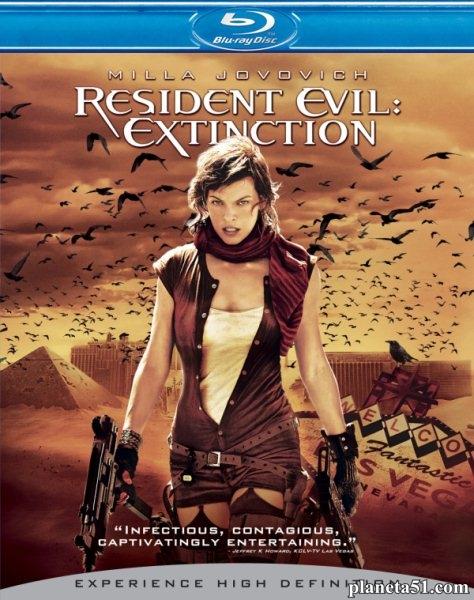 Обитель зла3 / Resident Evil: Extinction (2007/HDRip)
