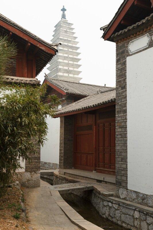 Старые дома народности наси, Парк национальностей, Пекин