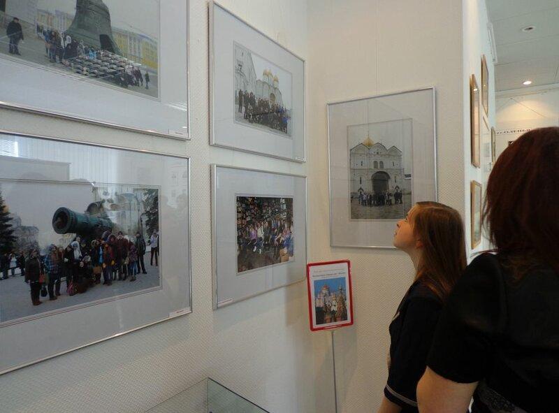 Выставка и встреча в городском музее