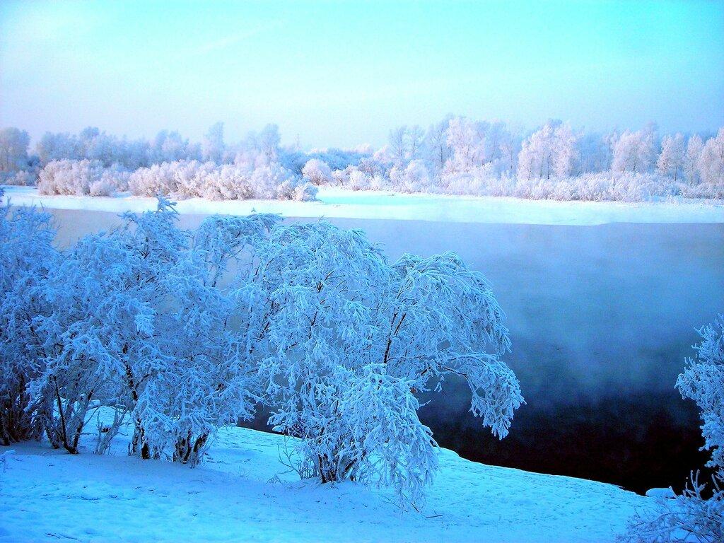 Зима. Сибирь. Красноярск.