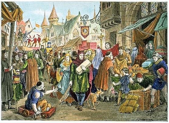 an analysis of city structure of the middle ages