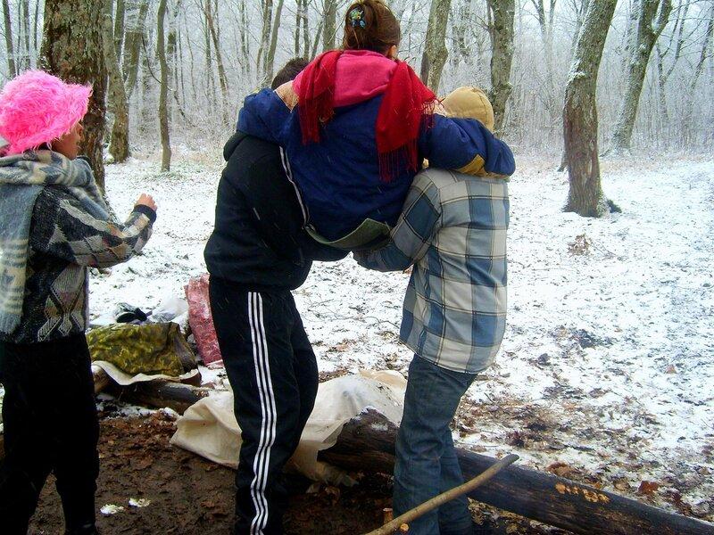 Фото зимнего похода