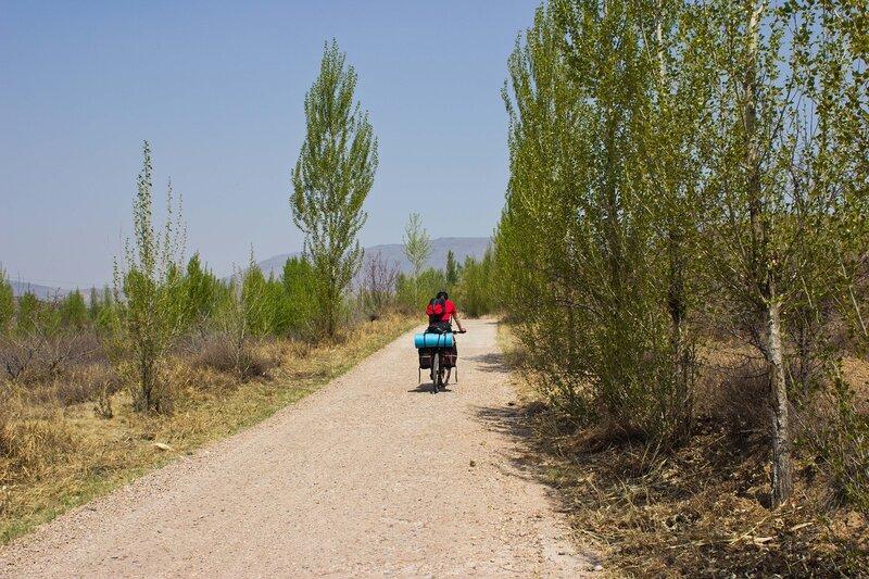 грунтовка во внутренней монголии, китай