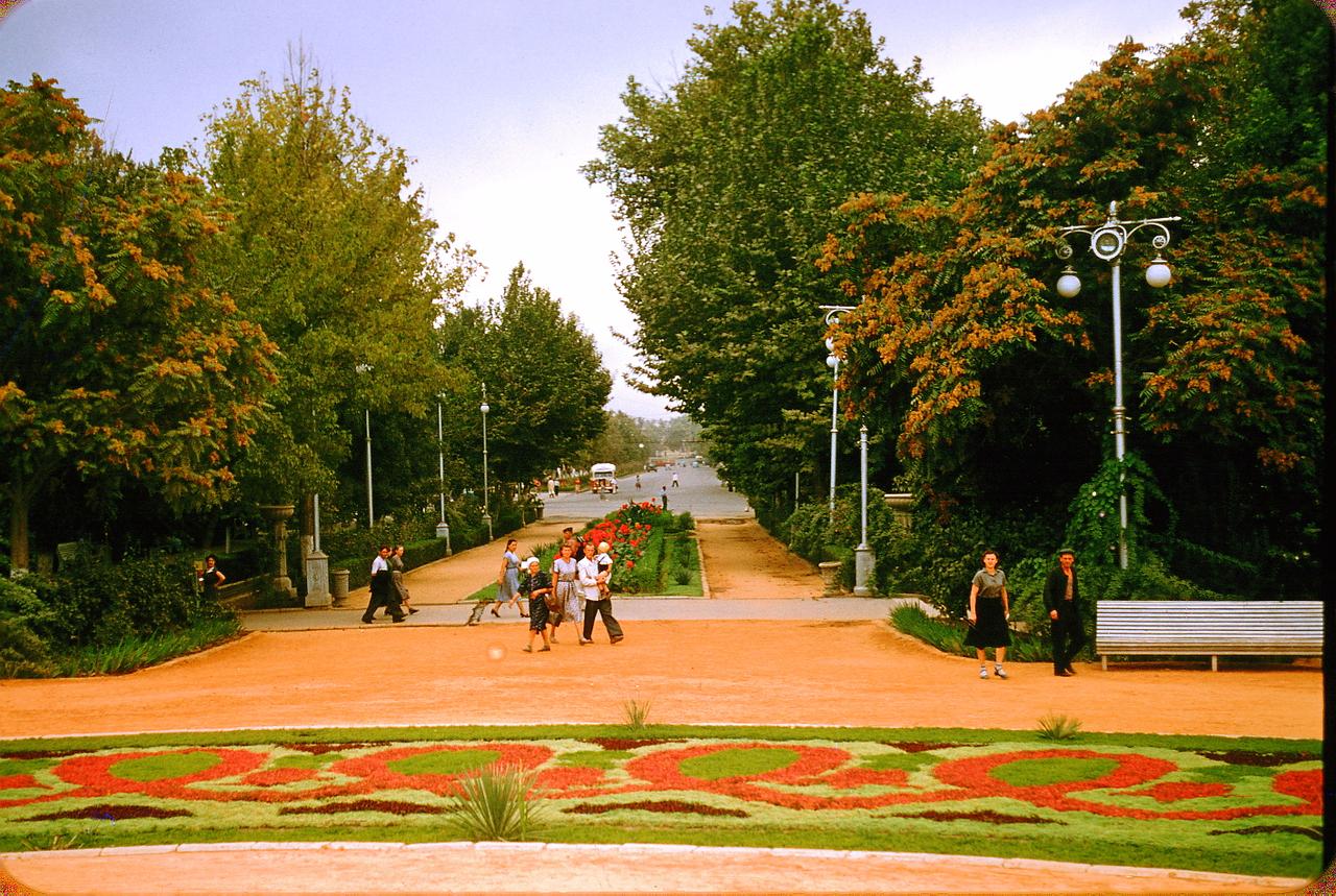 Центральный сад Ташкента