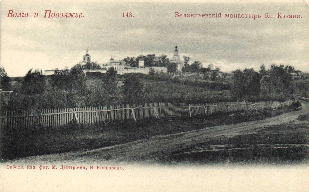 Зелантьевский монастырь близ Казани