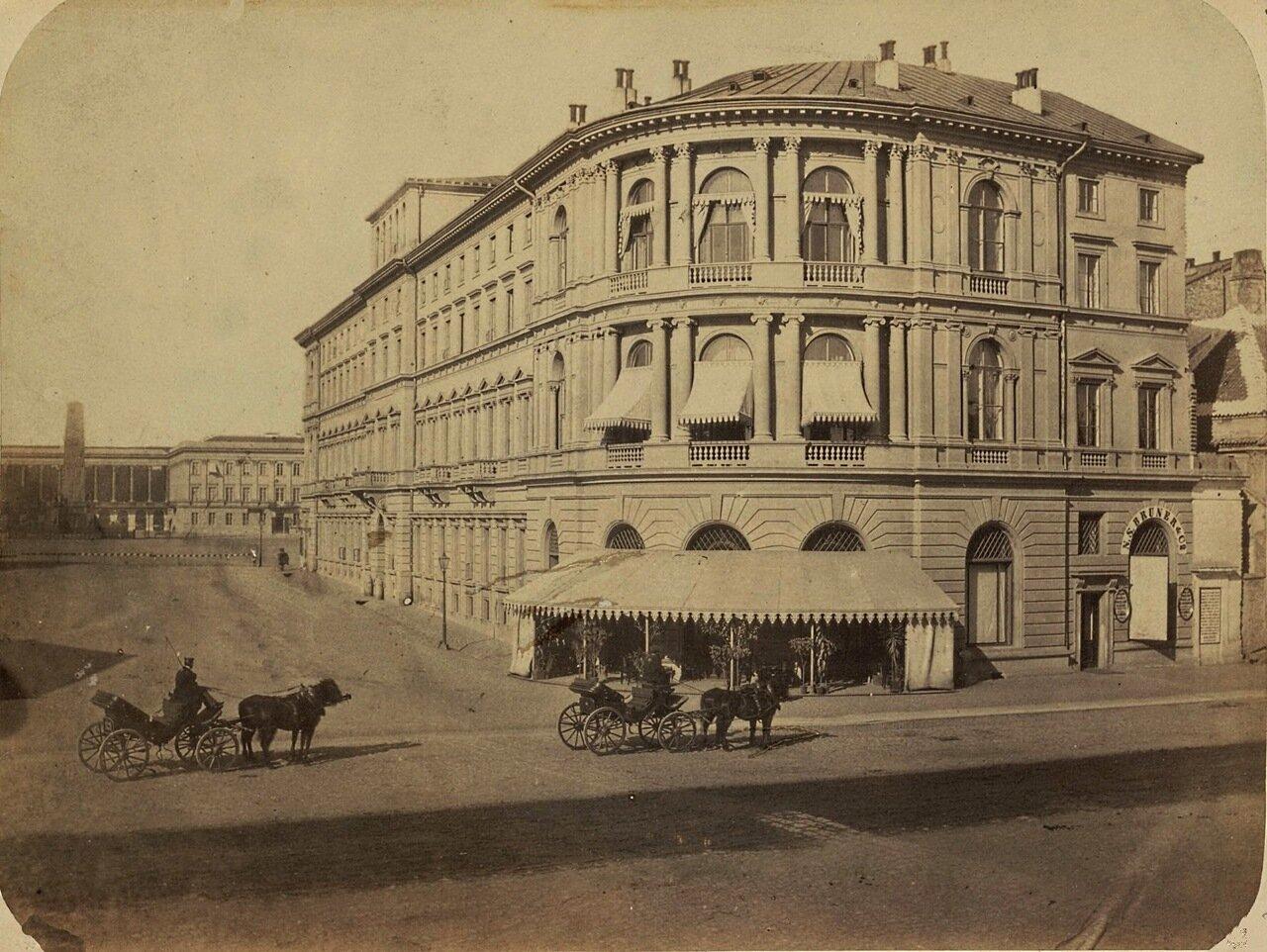 Гостиница Европейская. 1878