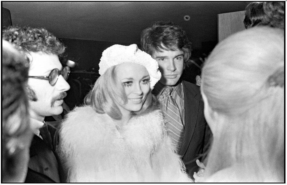 Warren Beatty and Faye Dunaway