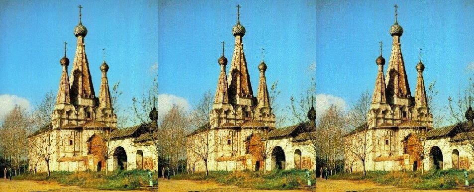 Успенская Дивная церковь, 1628, Алексеевский Монастырь, 1371,, г.Углич