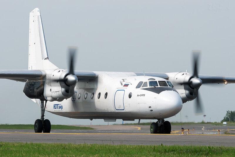 Антонов Ан-24РВ (RA-46532) ЮТэйр Экспресс DSC1885