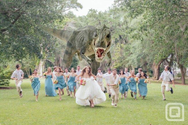 дино-свадьба 2