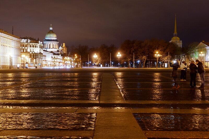 Дворцовая площадь, Исаакиевский собор, Адмиралтейство, Санкт-Петербург