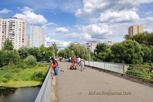 Балашиха, мост через Пехорку
