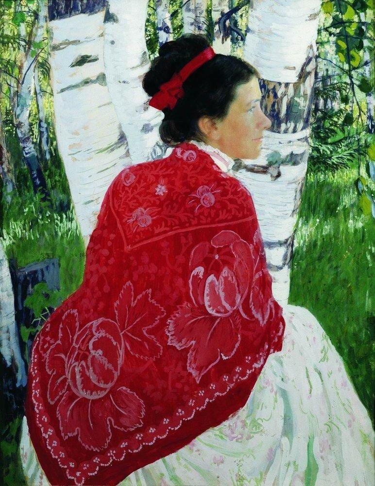 Портрет жены художника. 1909.jpg