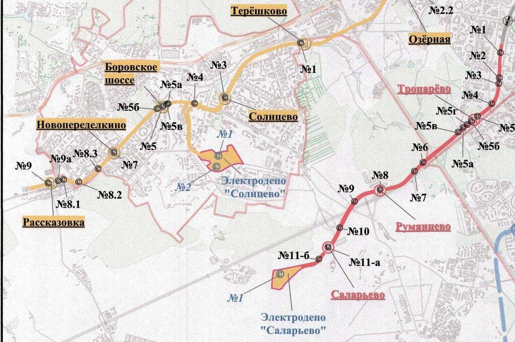 Ломоносовский проспект.