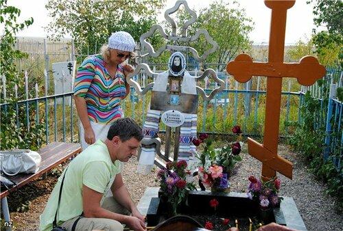 Могила мученницы Евдокии Чудиновской