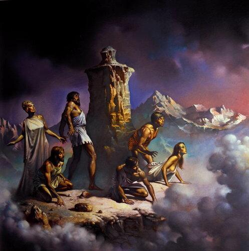 Большие картины Бориса Вальехо