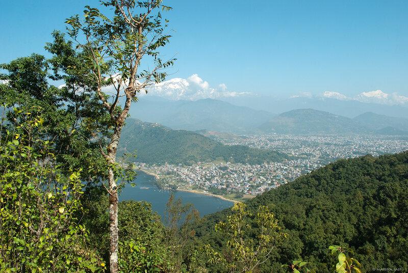 В окрестностях Покхары