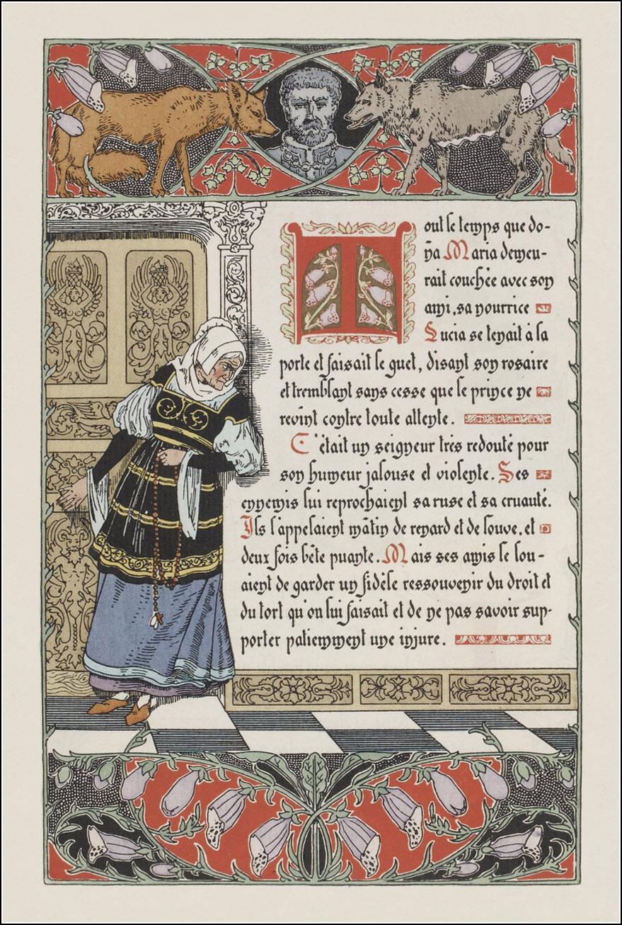 Léon Lebègue, Histoire de doña Maria d'Avalos