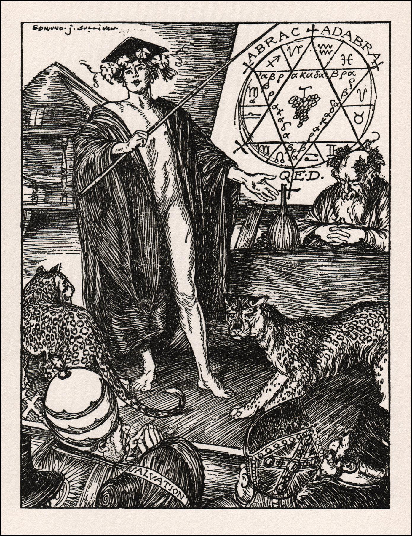 Edmund Joseph Sullivan, Rubáiyát of Omar Khayyám