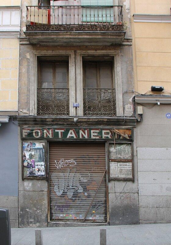 Мадрид. Улица Кава Баха (Calle Cava Baja)