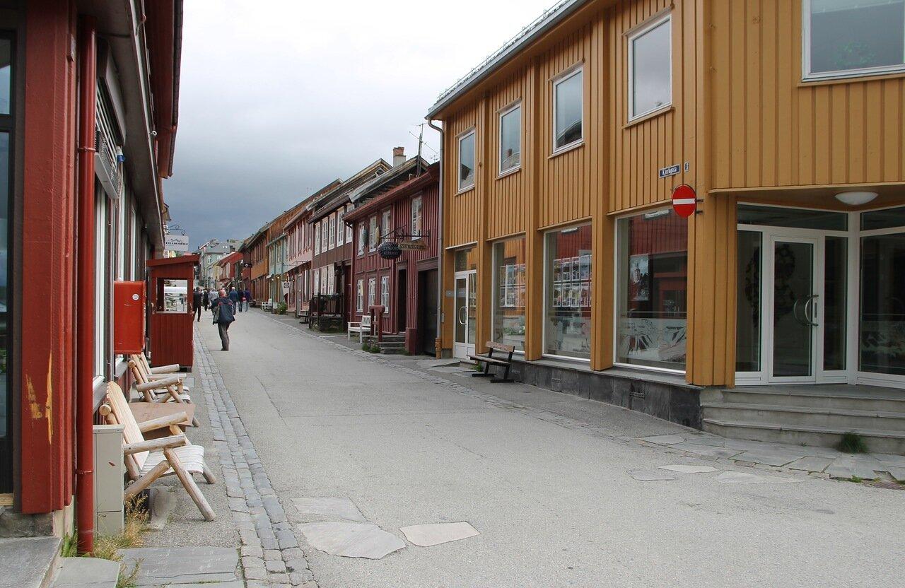 Рёрус, улица Kjerkgata