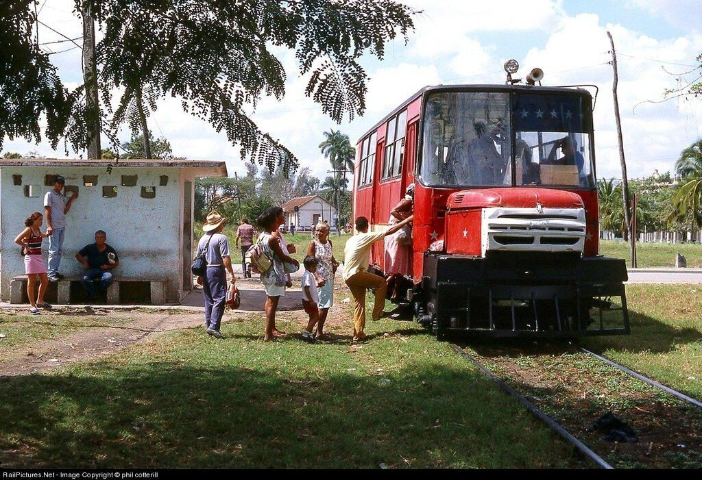 Railcar, Cuban National, Ranchuello, Cuba, February 21, 2003