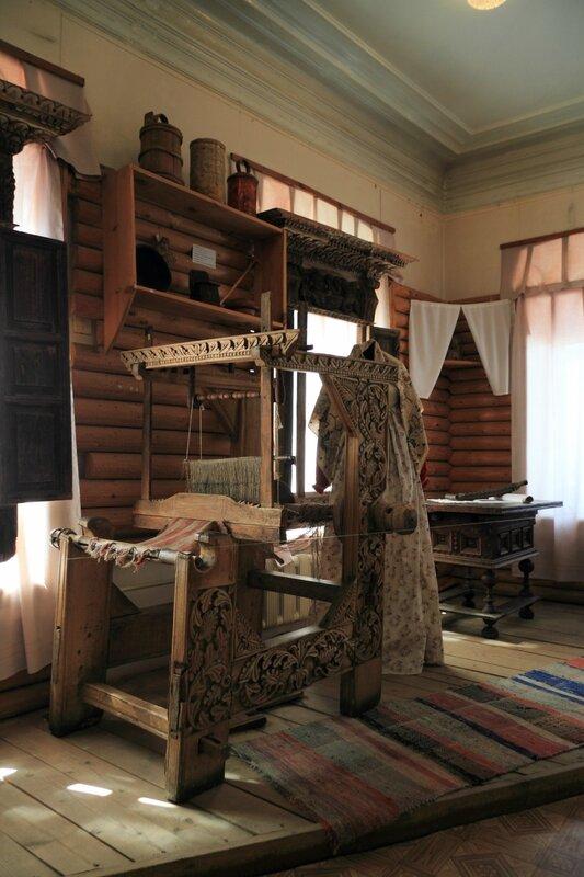 Городецкий краеведческий музей; экспозиция, посвященная крестьянскому быту