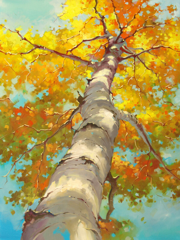 Осень роскошь свою набросит. Художник Иван Алифан ( Ivan Alifan )