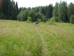 Дорога к привалу у деревни Климово