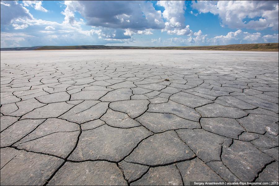 Пустынные пейзажи Крыма