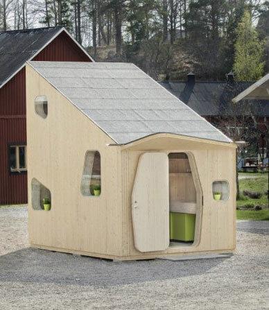 Микро-дом со всеми удобствами