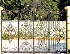 Винтажные ворота фото ворота откатные ду