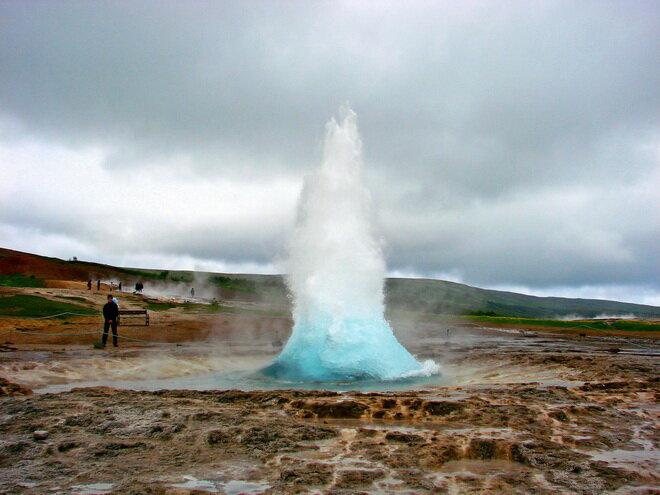 Долина Хаукадалур. Исландия