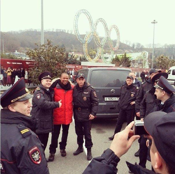 Xzibit и полиция Сочи