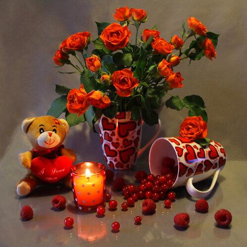 Всех с Днём Влюблённых поздравляю.......!!!