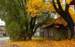 Осень на старой улочке