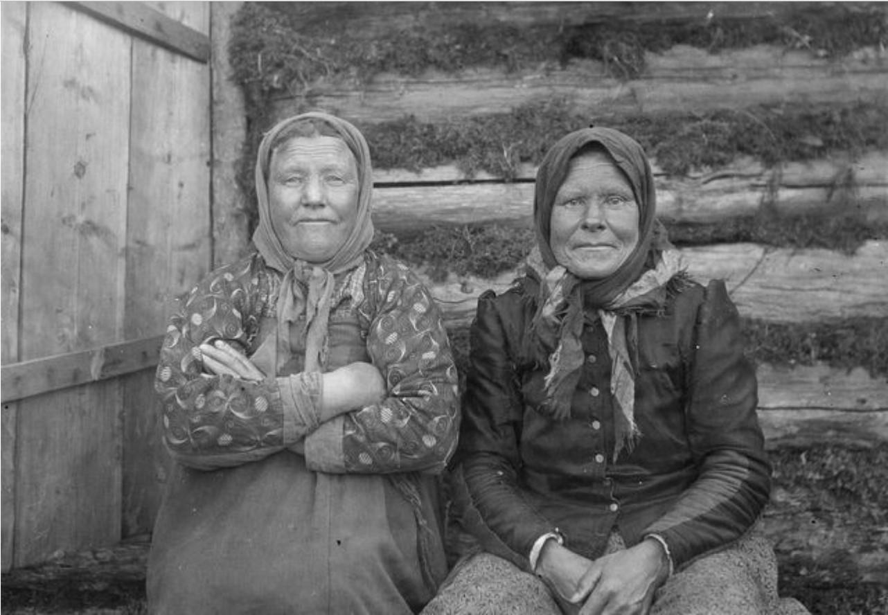 Оланга. Cёстры Eфимия и Мария