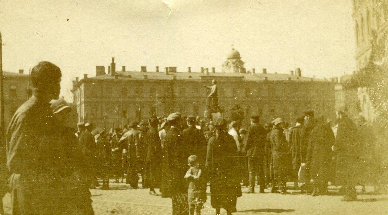 Ленинград. Открытие памятника Плеханова. Май 1925