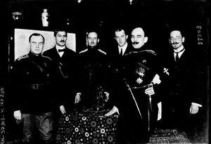 1919.Полковник Павел Рафалович Бермонт-Авалов, командующий Западной добровольческой армией