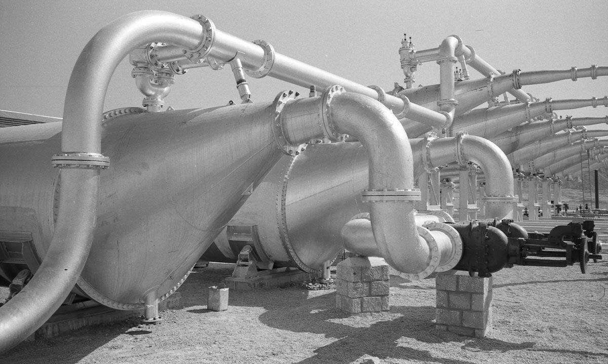 37. Нефтяная промышленность в Иране, 1958