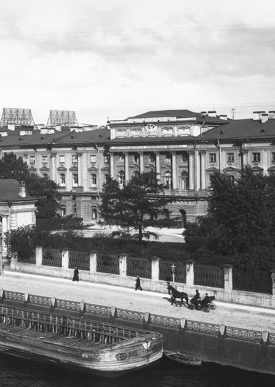 1912. Здание Сиротского Института Императора Николая I
