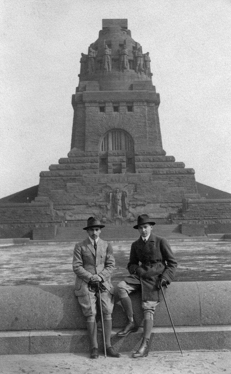1920. Лейпциг, Памятник Битве народов