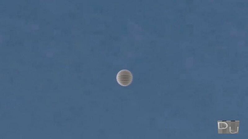 НЛО над Кливлендом, штат Огайо, США 22 апреля 2013 года